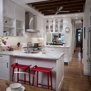 白色简约优雅型厨房