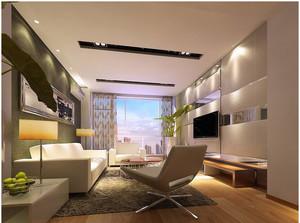 舒适客厅窗帘图片