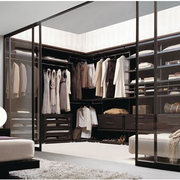 卧室时尚衣帽间