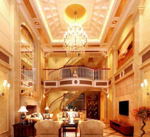 大户型豪华别墅客厅