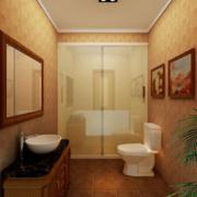卫生间装饰画效果图