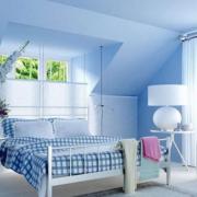 清新型卧室效果图片