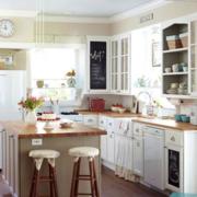 田园风格厨房装修设计