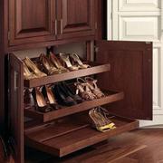 美式简约风格鞋柜装饰