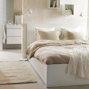 欧式简约风格浅色卧室背景墙装饰
