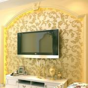 欧式奢华印花背景墙装饰