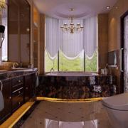 奢华公寓简欧风格卫生间装饰