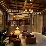 精致型客厅吊顶设计