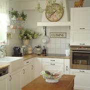 欧式田园风格交互空间厨房装饰