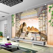 简约风格3D风景图电视背景墙装饰