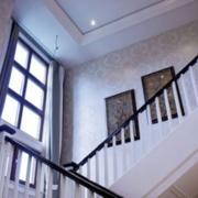现代简约风格客厅楼梯装饰