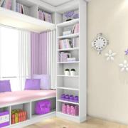紫色调窗帘装修设计