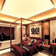 东南亚简约卧室床头灯饰装饰
