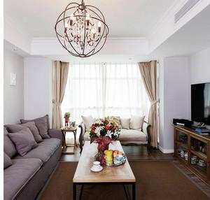 欧式风格单身公寓装修效果图