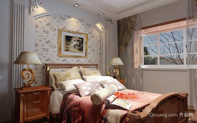两居室欧式卧室装修效果图