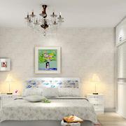 现代简约风格卧室墙饰装修