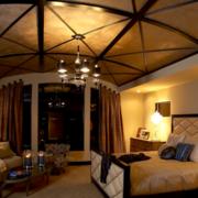 东南亚风格卧室吊顶装饰
