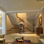 简欧风格楼梯装饰效果图