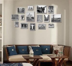 创意照片墙装修设计效果图