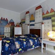 大户型卧室背景墙