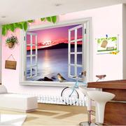 时尚风格卧室背景墙