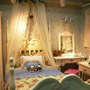 欧式风格公主式儿童房装饰
