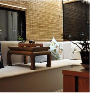 中式复古飘窗装修效果图