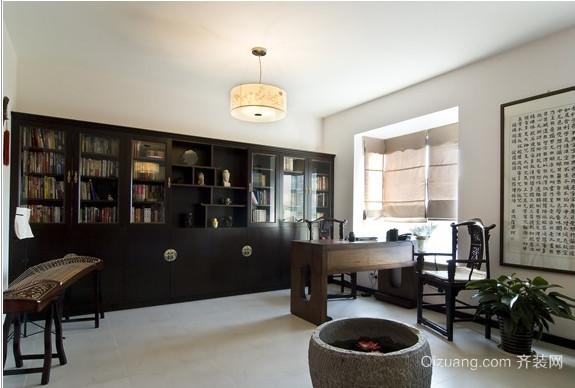 中式公寓装修风格效果图 简单大气