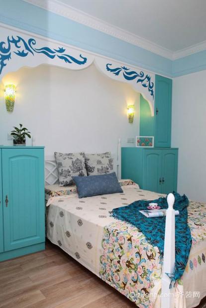 30平米地中海风格儿童房装修效果图