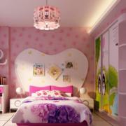 粉色系儿童房衣柜装饰