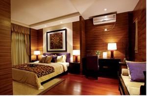 东南亚现代小卧室装修效果图