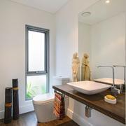 北欧风格简约卫生间镜饰装饰