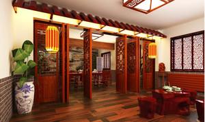 中式古典家装效果图