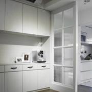 交互空间简约风格厨房隔断装饰
