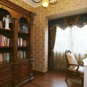 欧式风格公寓书房