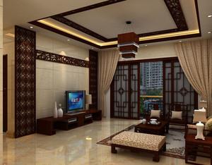 传统型客厅吊顶大全