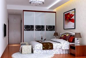 中式主卧餐厅背景墙装饰