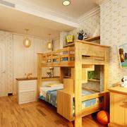 美式简约印花儿童房背景墙装饰