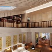 宜家风格客厅吊顶设计