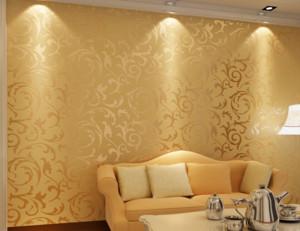 客厅墙纸装修效果图片大全