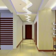 中式简约客厅过道装饰
