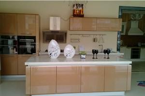 大户型现代都市厨房欧派橱柜背景墙装修效果图