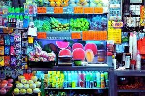 社区30平小水果店装修效果图