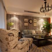 暖色调客厅设计欣赏