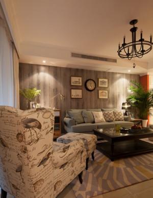 豪华大型自建别墅欧式客厅装修效果图