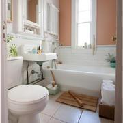 现代简约风格卫生间浴缸装饰