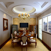 欧式风格公寓餐厅