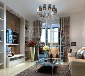 单身公寓交换空间装修效果图