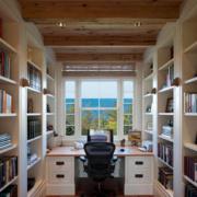 大户型书房装修图片