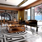 日式简约风格公寓客厅装饰